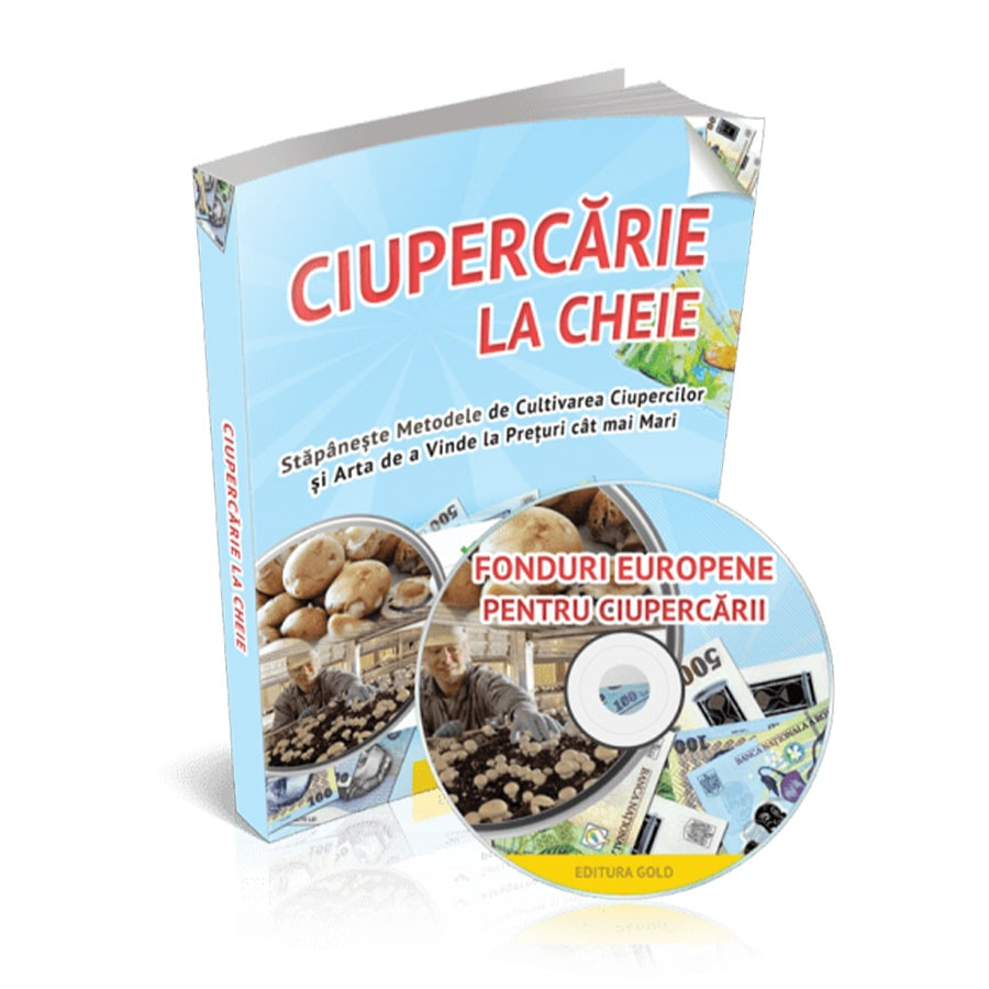 Ciuperci Champignon - Ghid complet pentru cultivare si comercializare!